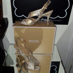 9cd711215648 MICHAEL Michael Kors Shoes - NEW MICHAEL MICHAEL KORS BECKY DRESS SANDALS